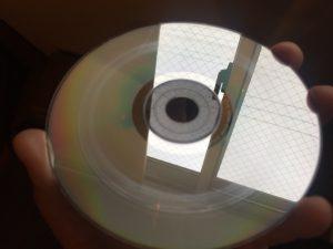 傷が付いたディスク